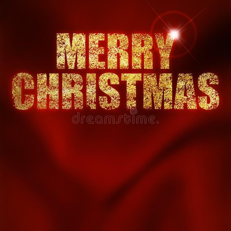 Merry christmas vector illustration