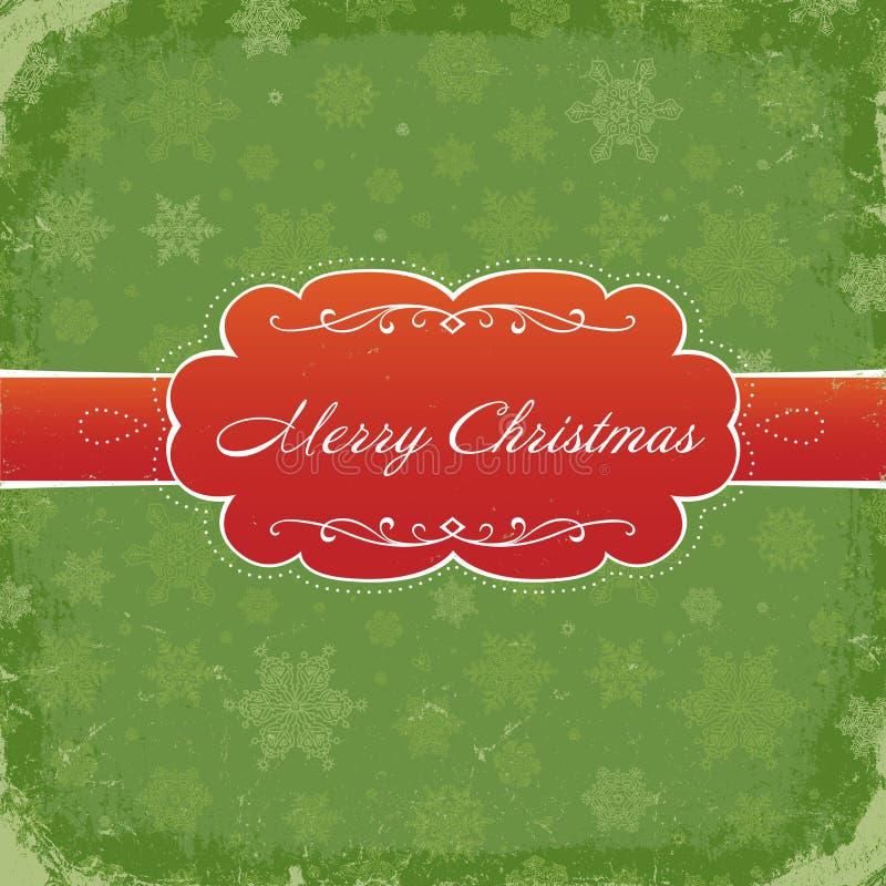 Merry Christmas Grunge Background. royalty free illustration