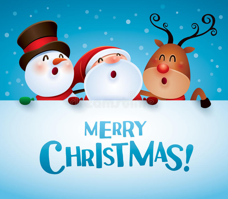 Merry Christmas And Happy New Year Companion, Santa Claus