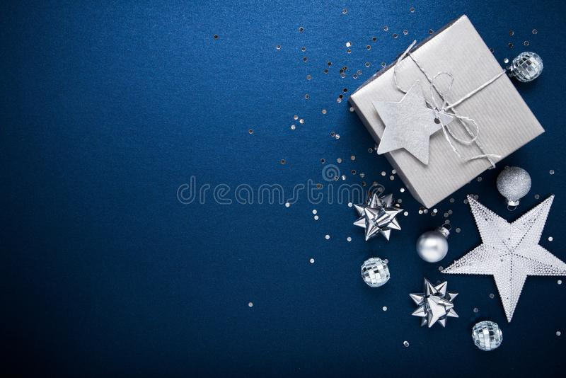 Christmas and New Year holiday background. Xmas greeting card. Winter holidays. Merry Christmas and Happy Holidays greeting card, frame, banner. New Year. Noel stock photo