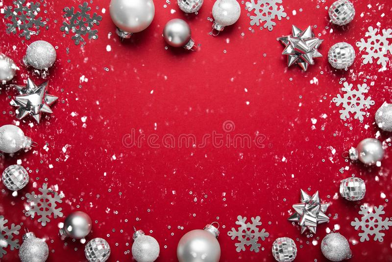 Christmas and New Year holiday background. Xmas greeting card. Winter holidays. Merry Christmas and Happy Holidays greeting card, frame, banner. New Year stock photos