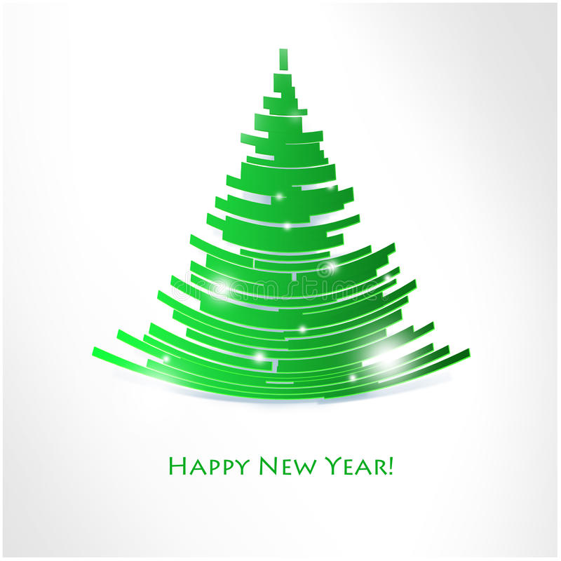 Merry Christmas and Happy New Year background. Merry Christmas and Happy New Year withe background royalty free illustration