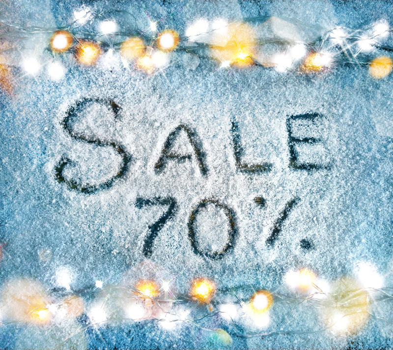 Merry Christmas and Happy New Year discount!! stock photo