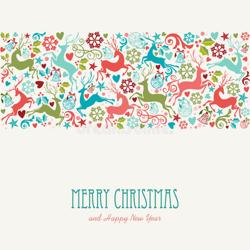Merry christmas and happy new year greeting card stock vector download merry christmas and happy new year greeting card stock vector illustration of banner m4hsunfo