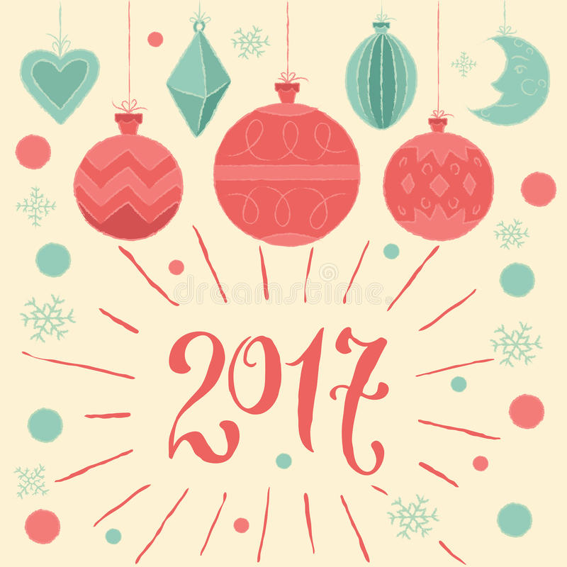 2017 Merry Christmas And Happy New Year! Greeting Card ...