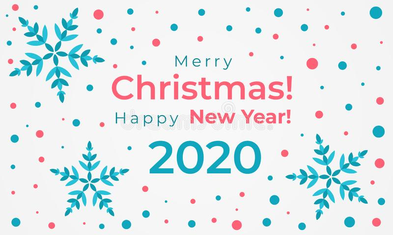 merry christmas and happy new year 2020 greeting card stock vector illustration of abstract festive 158222404 merry christmas and happy new year 2020