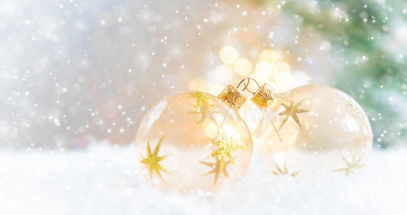 Merry Christmas and Happy New Year, Holidays greeting card background. Selective focus. Merry Christmas and Happy New Year, Holidays greeting card with blurred royalty free stock photography