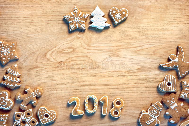 Merry Christmas and Happy new year! royalty free stock image