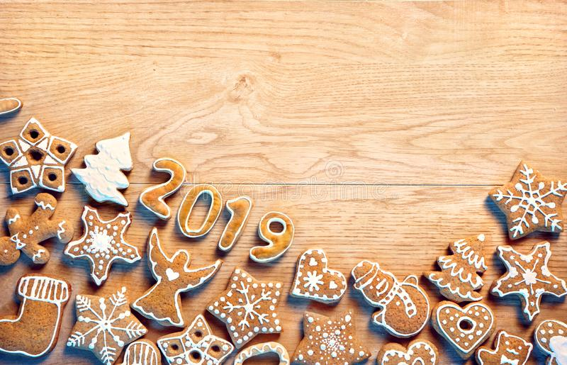 Merry Christmas and Happy new year! stock image