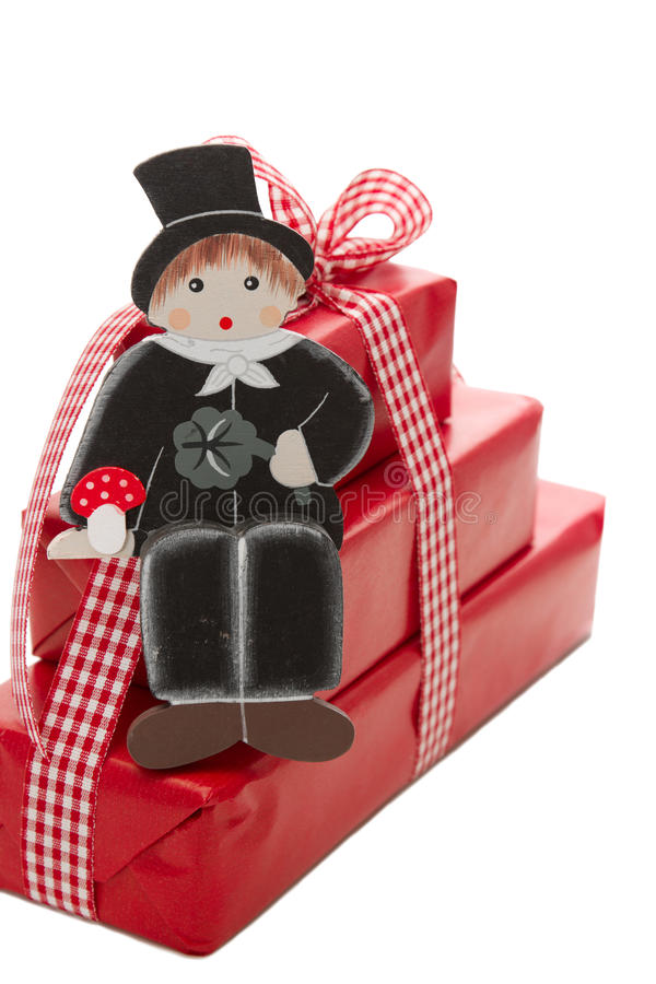 Download Merry Christmas And A Happy New Year - Red Present Stock Photo - Image: 34863514