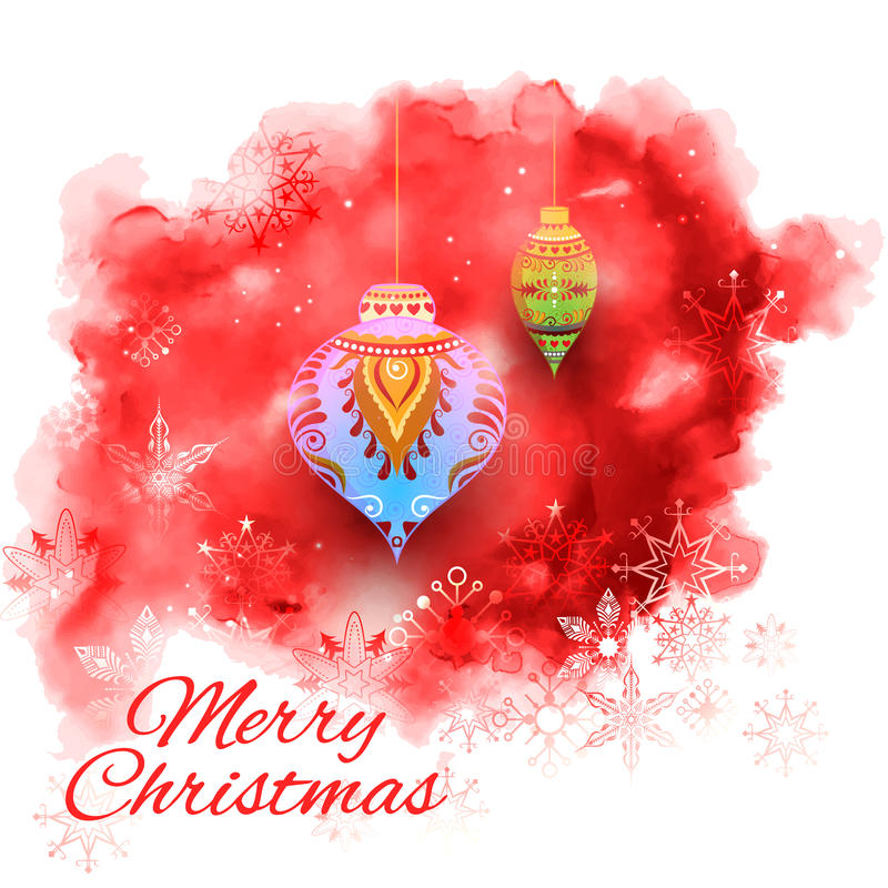 Merry Christmas holiday background royalty free illustration