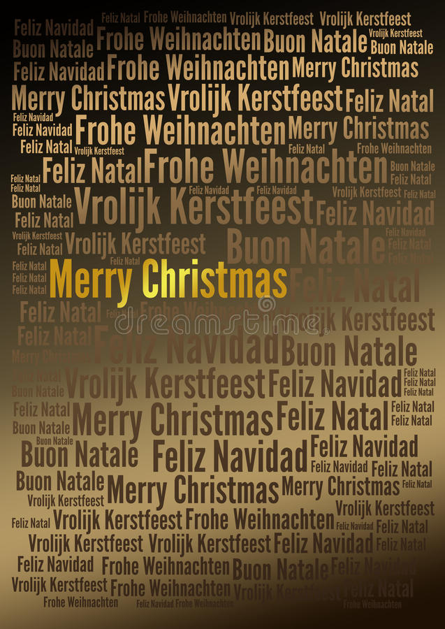 Merry Christmas holiday background. Merry Christmas words tags holiday background - for your holiday projects: cards, postcards, posters, invitations, letters vector illustration