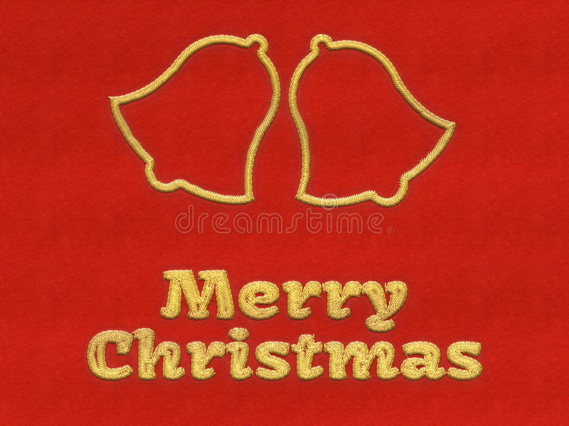 Merry Christmas jingle bells background vector illustration