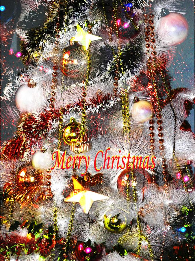 Merry Christmas. Love peace holiday royalty free stock images