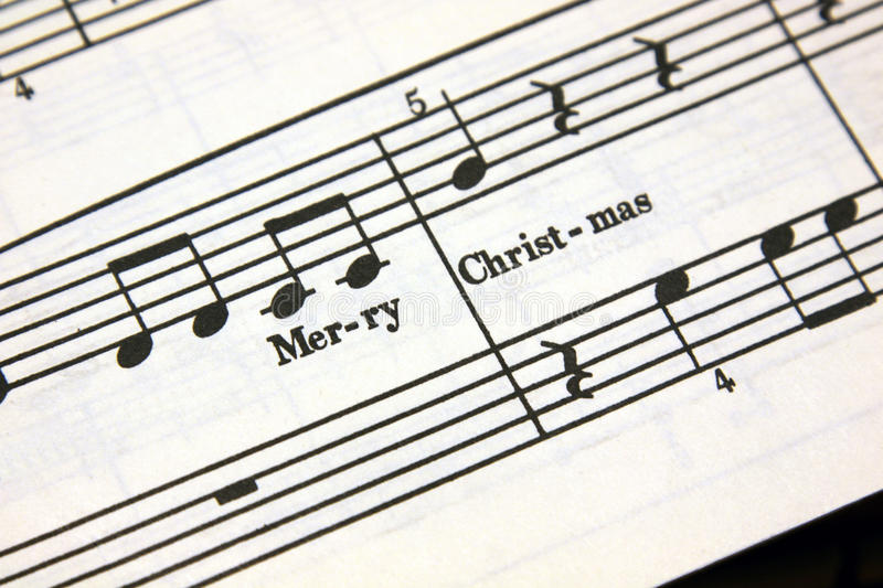 Download Merry Christmas Music stock image. Image of merry, sheet - 17188489