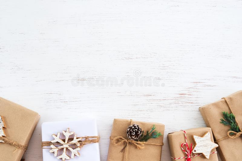 Merry Christmas and New year holiday. stock photos
