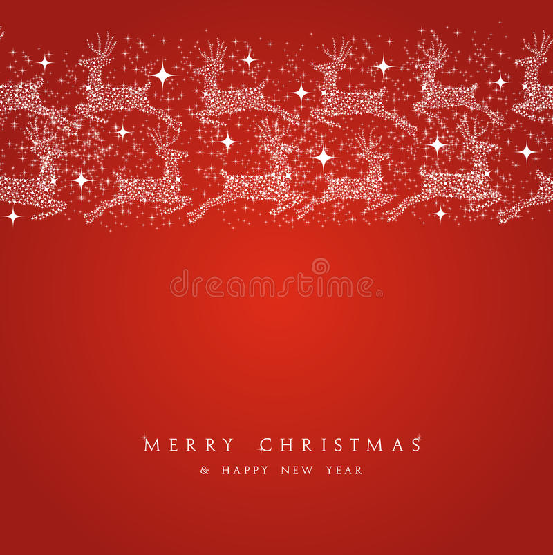 Free Merry Christmas Reindeer Decorations Elements Bord Royalty Free Stock Photography - 34309047