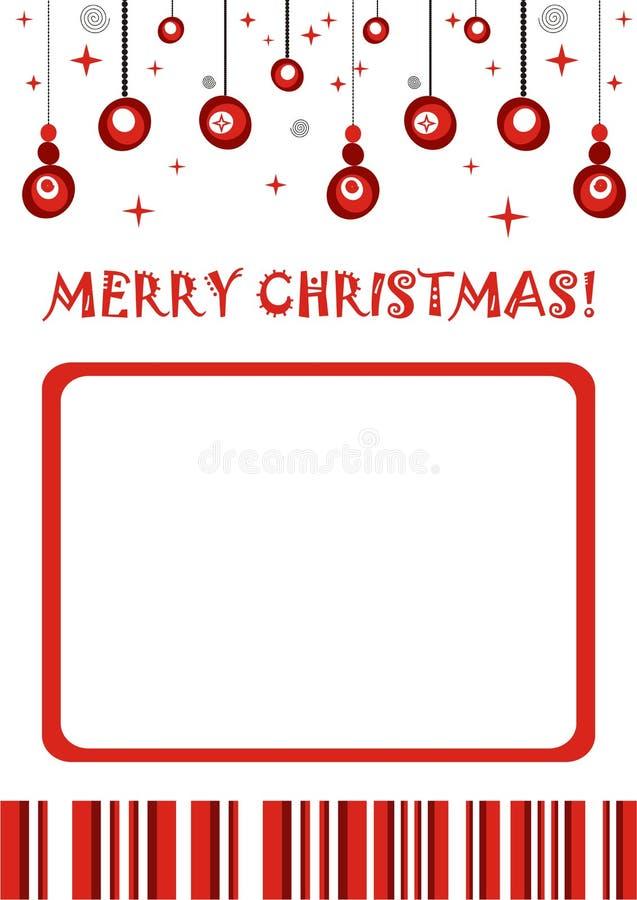 Download Merry Christmas Retro Photo Frame Stock Photos - Image: 16892543