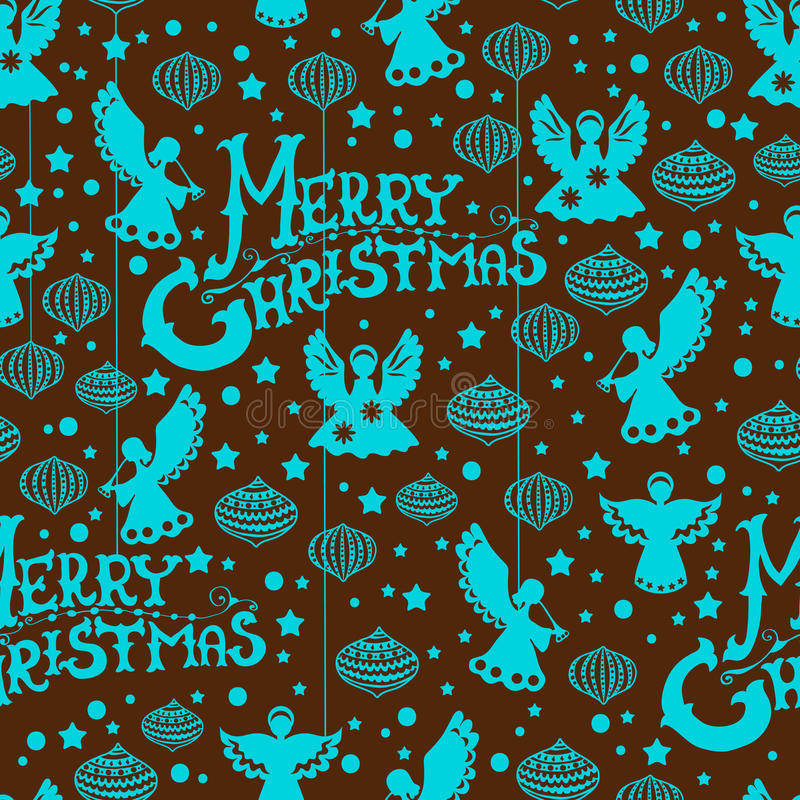 Download Merry Christmas  Seamless Pattern Stock Vector - Illustration of origami, repeat: 27320169