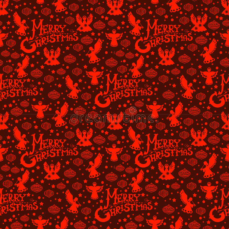 Download Merry Christmas  Seamless Pattern Stock Vector - Image: 27320176