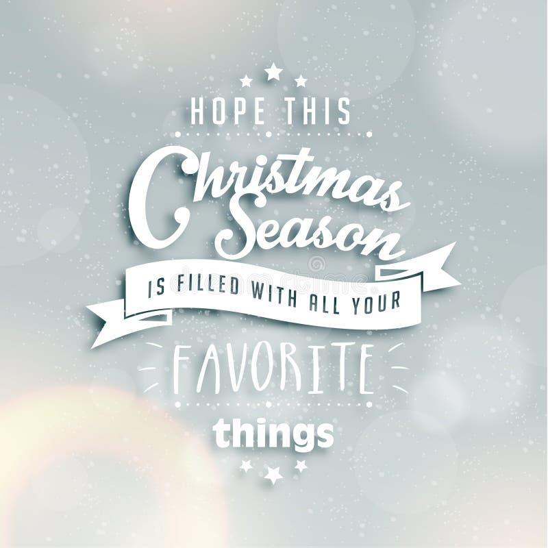 Merry christmas season greetings quote stock illustration download merry christmas season greetings quote stock illustration illustration of background celebration 46702431 m4hsunfo