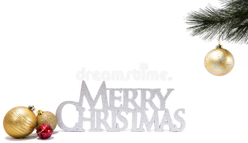 Merry Christmas. royalty free stock image