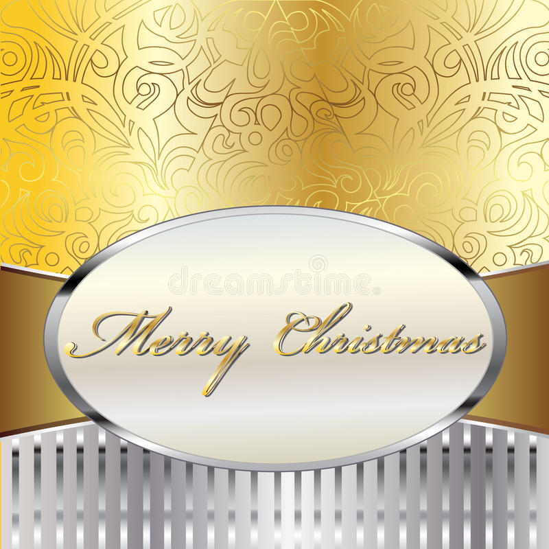 Download Merry Christmas Vector Card Stock Vector - Image: 27919227