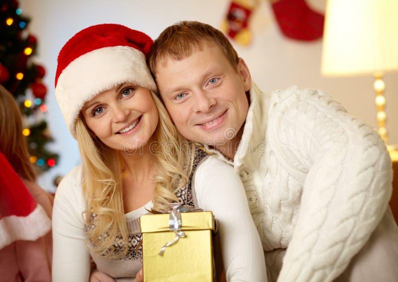 Download Merry couple stock photo. Image of pair, portrait, positive - 34413758