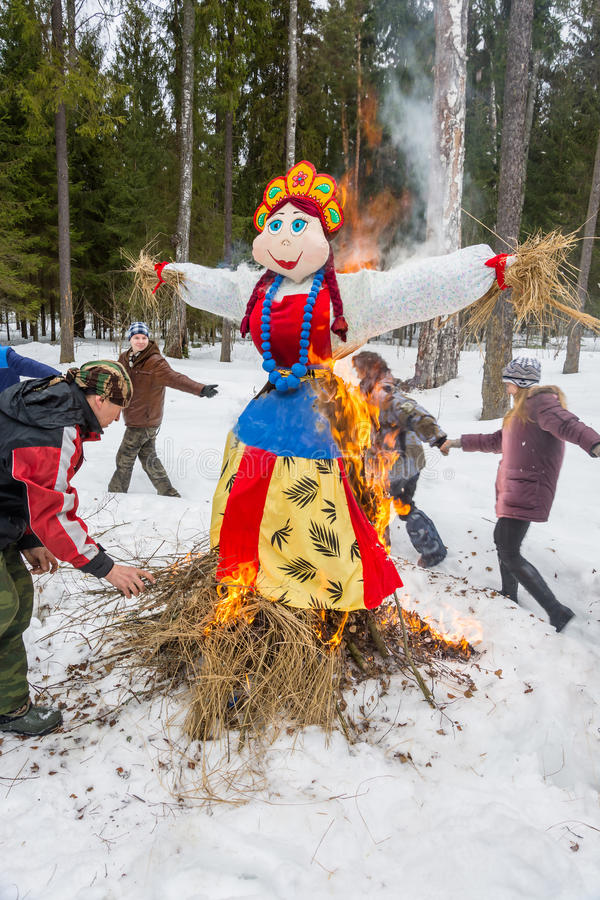 Image result for why do we burn maslenitsa