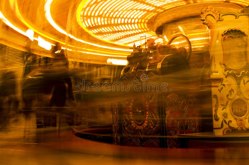 Download Merry-Go-Round stock photo. Image of carousel, yellow - 12642448