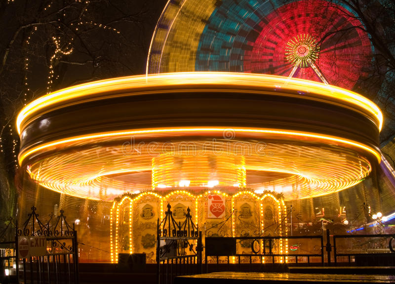 Merry Go Round Royalty Free Stock Image