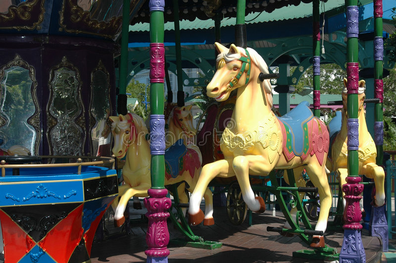 Download Merry-go-round editorial photo. Image of driving, burly - 2734996