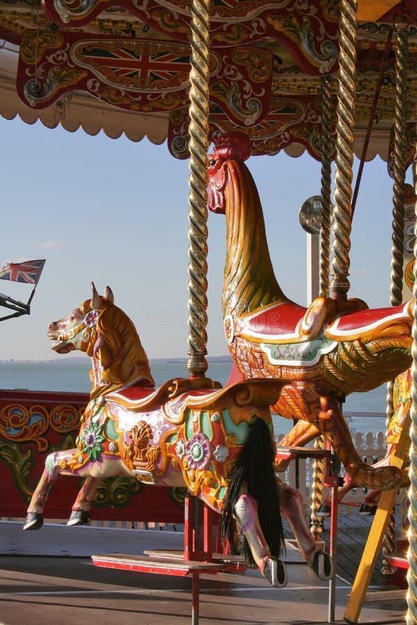 Merry-go-round imagem de stock royalty free