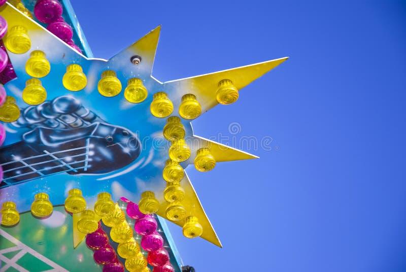 Merry-go-round foto de stock