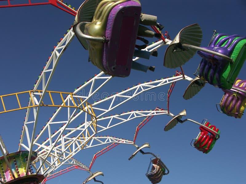 Merry-go-round Spinning Stock Photos