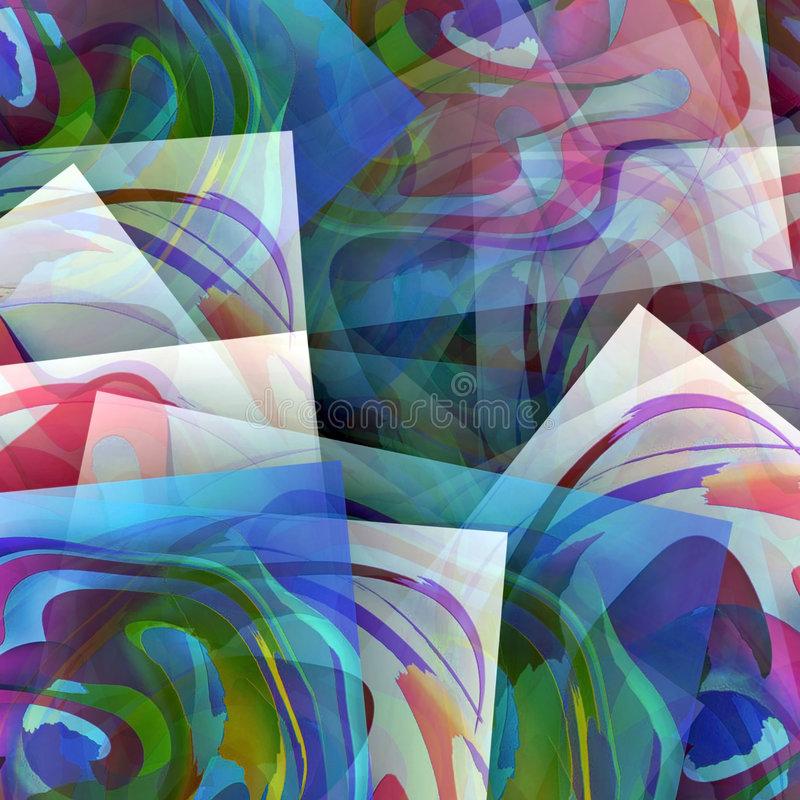 Merry pages. Abstract fantasy, illustration, it is possible to use as a background vector illustration