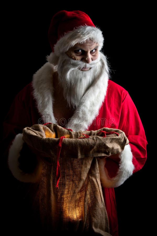 Download Merry scary christmas stock image. Image of ugly, makeup - 17471587