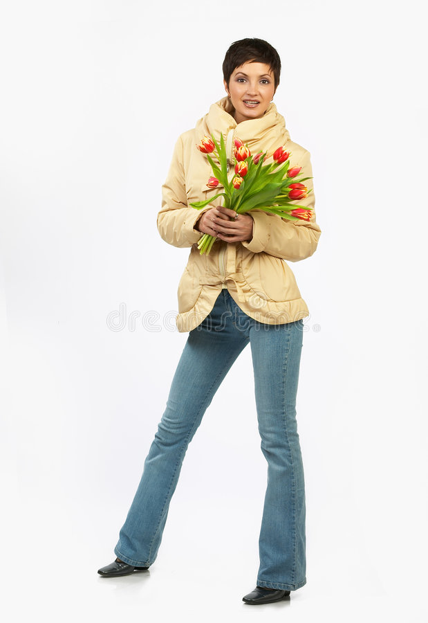Download Merry spring flowers. stock image. Image of colorful, laughing - 472771