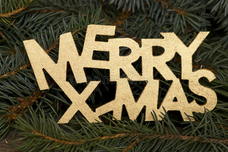 Download Merry Xmas stock image. Image of merry, letter, green - 11475983