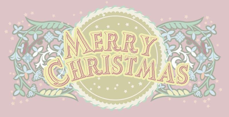 Merrycristmas_2 illustrazione di stock