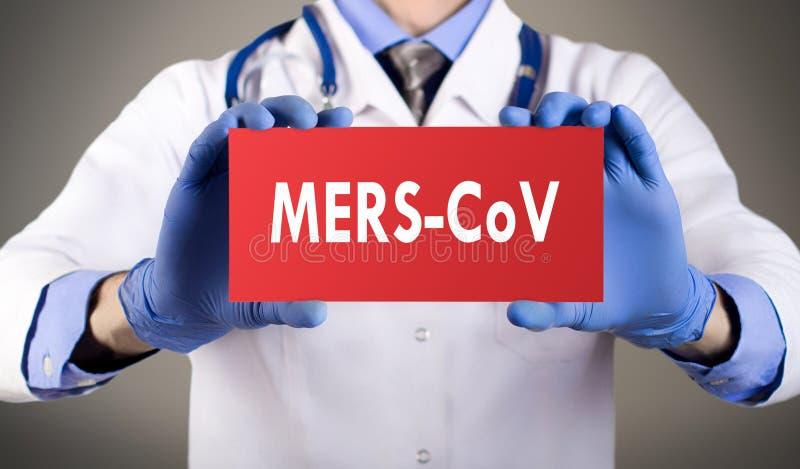 MERS-CoV photographie stock libre de droits