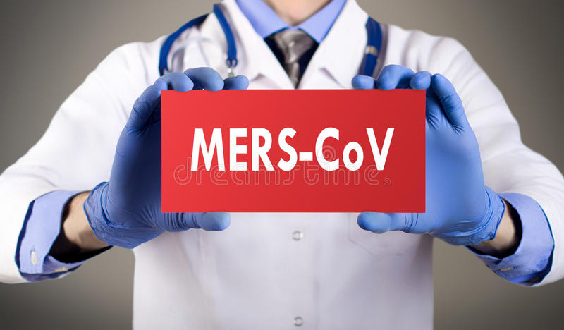 Mers-cov royalty free stock photography