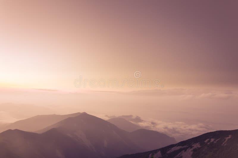 Mers des nuages image stock
