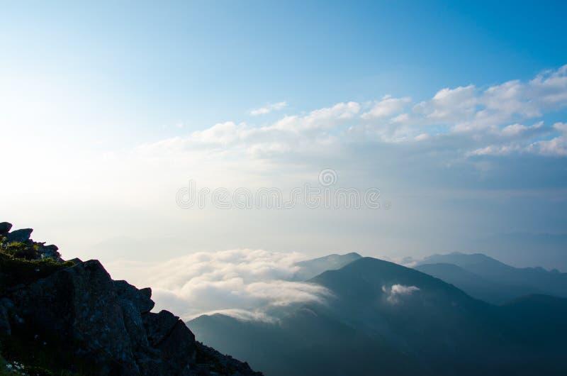 Mers des nuages photographie stock libre de droits