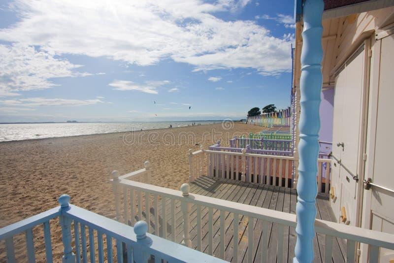 mersea пляжа стоковое фото rf