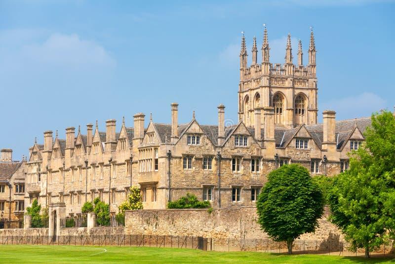 Merton-College. Oxford, Großbritannien lizenzfreies stockbild