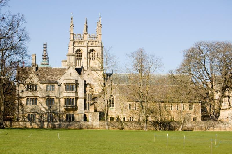 Merton College, Oxford University Stock Photos