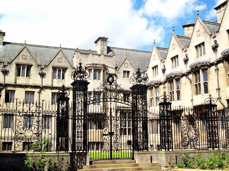 Merton Hochschule, Universität von Oxford stockfoto