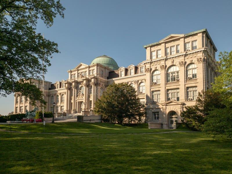 Mertz-Bibliothek - botanischer Garten New York lizenzfreie stockfotografie