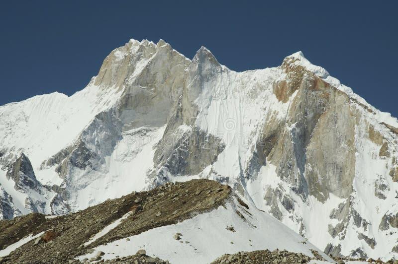 Meru peak royalty free stock photo